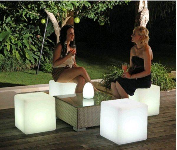 30cm LED Cube Light