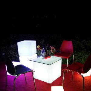 40cm Seat LED Cube