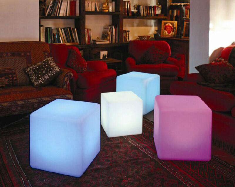 Cube LED 60 cm Chaise