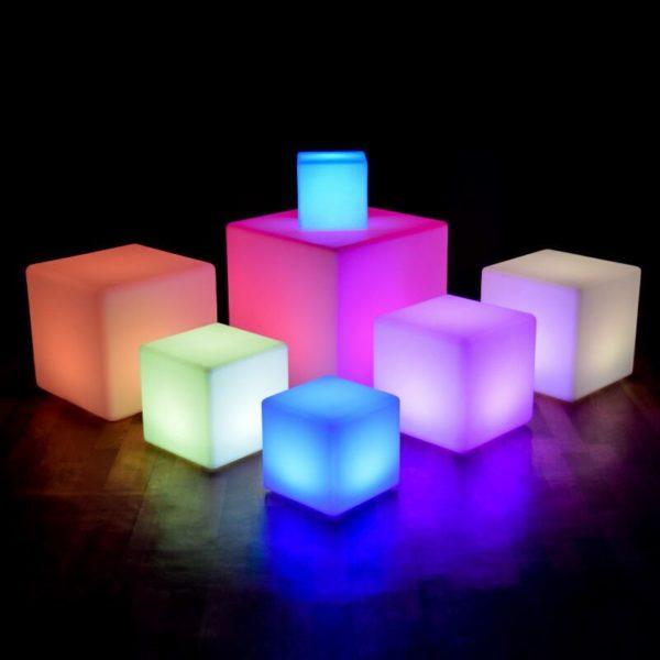 Seat Cube LED 60 cm