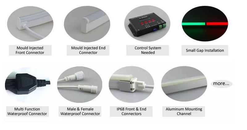 DMX Neon LED Flex Accessoriess