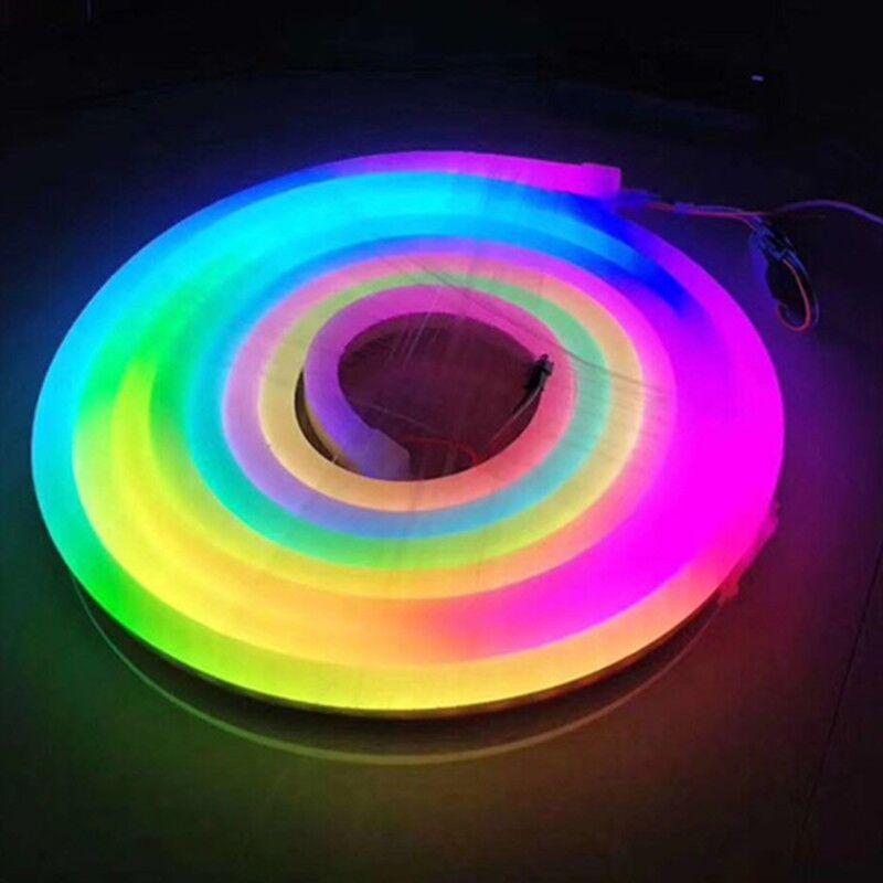 neón LED flex 12v DMX