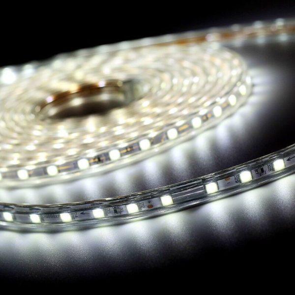 led strip white 220v