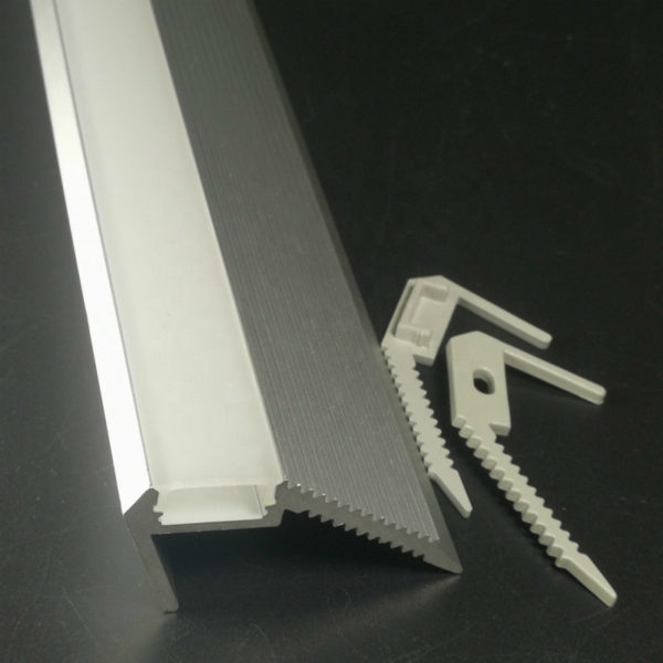 led stair step wall lights