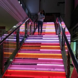 RGB Sensor LED Stair Lights