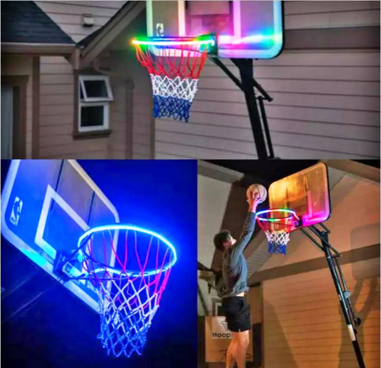 Basketball frame light belt