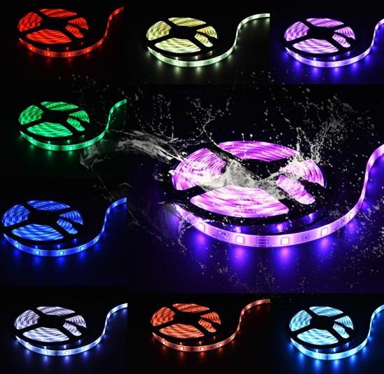 Battery LED Strip Color