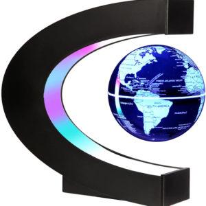 LED Light World Map Magnetic