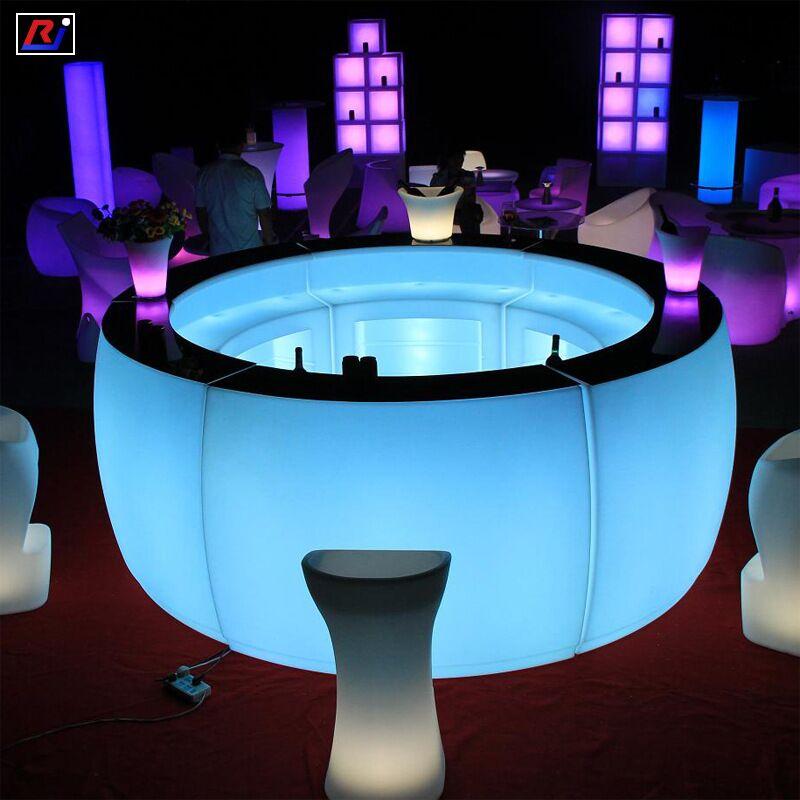 buy led bar table