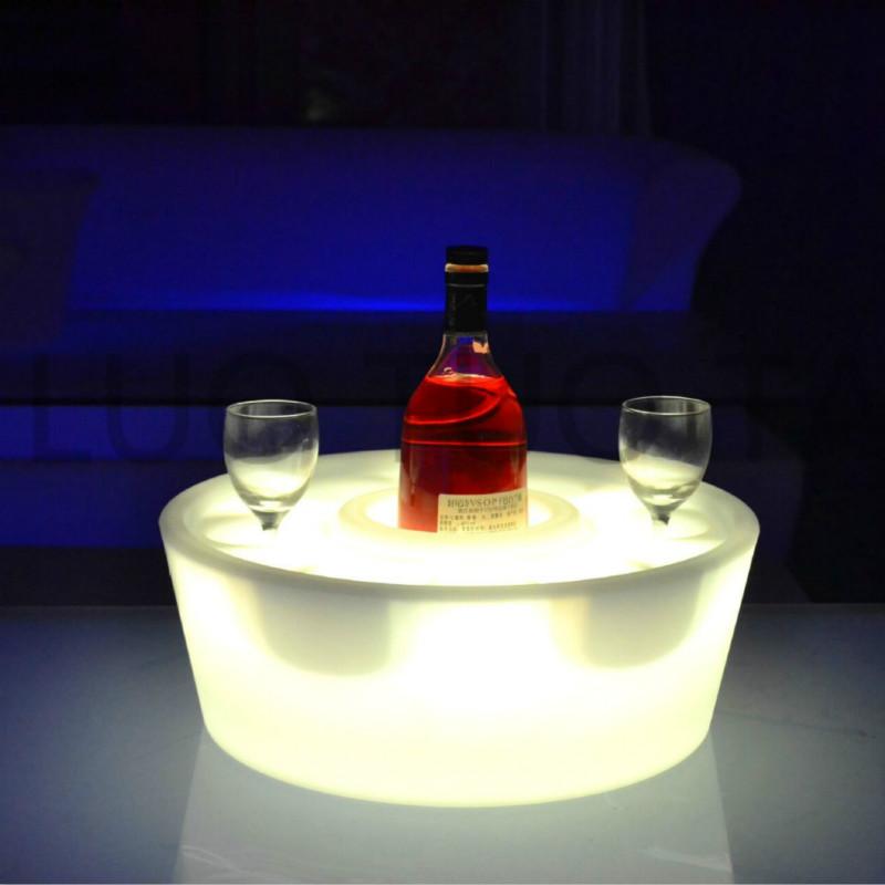 Colorful LED wine Tray