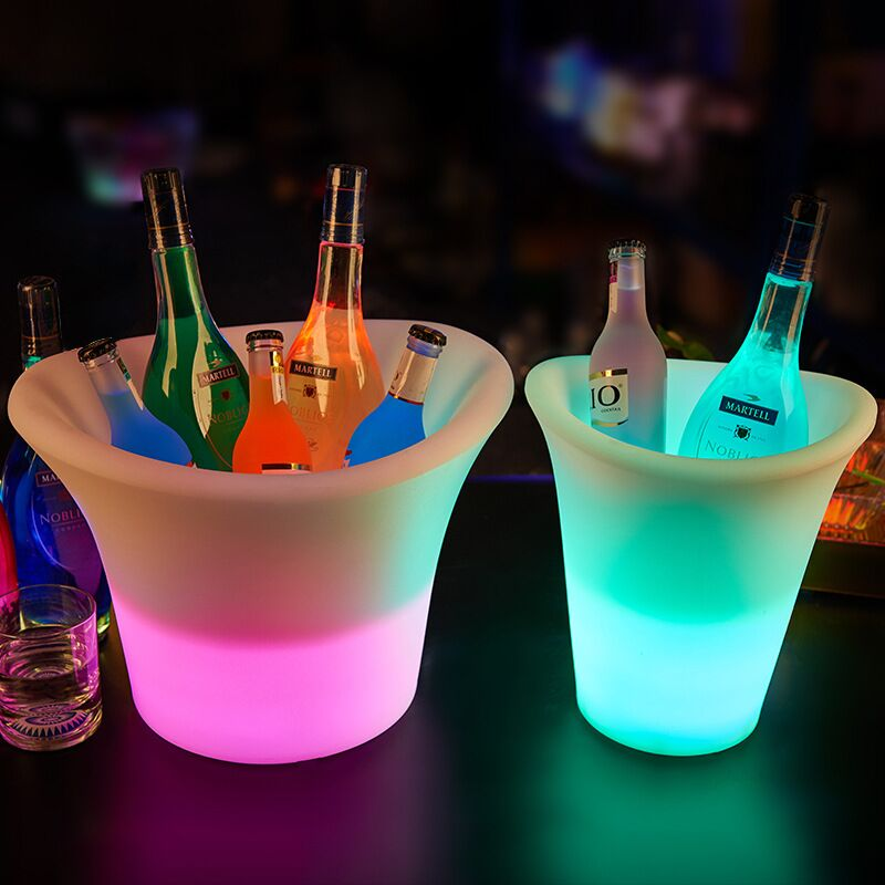 led beer bucket