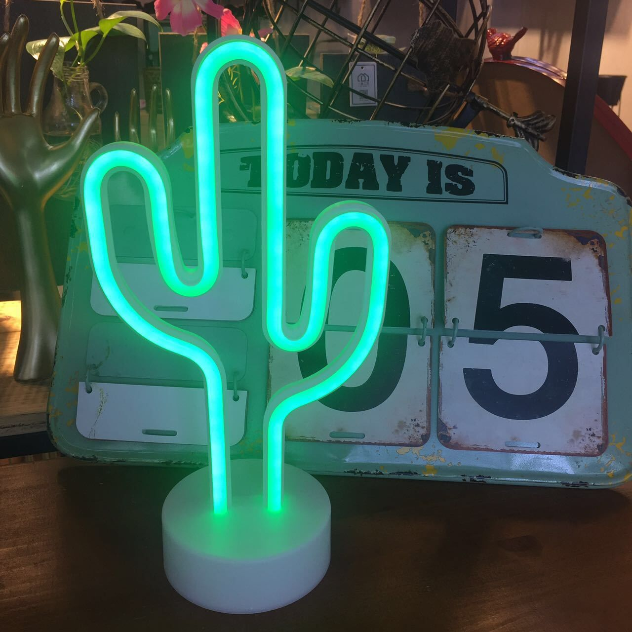 LED Cactus Neon SignS