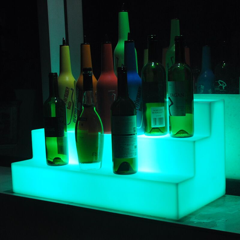 Glowing Bottle Stand