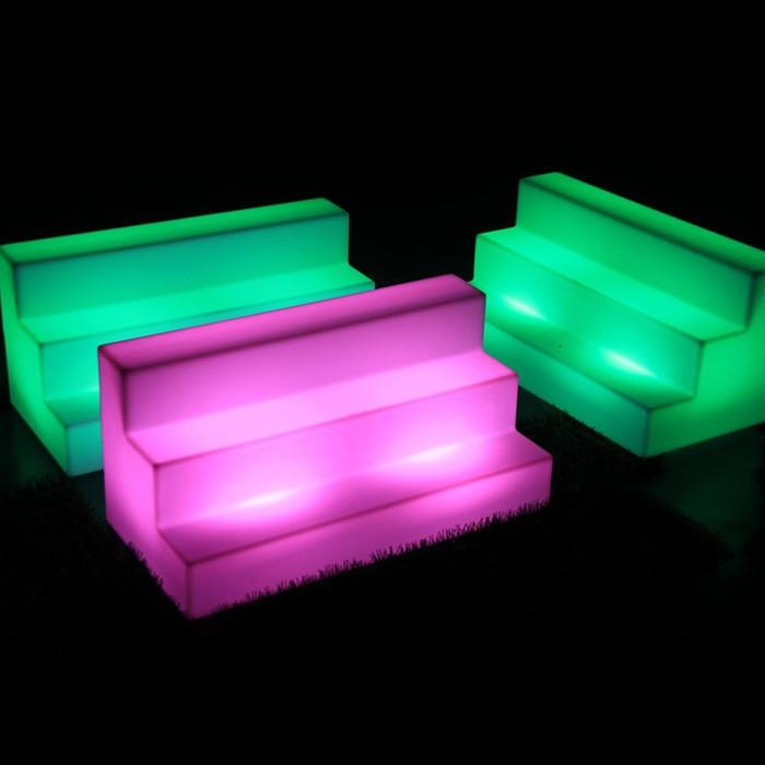 RGB Bottle Display
