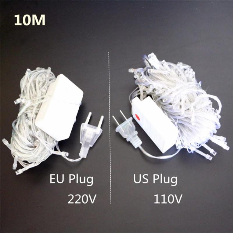 EU Plug UK Plug LED String