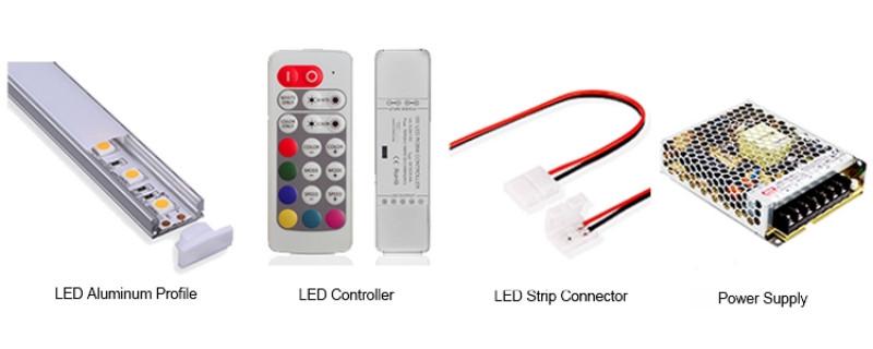 WS2812B LED Strip Accessories
