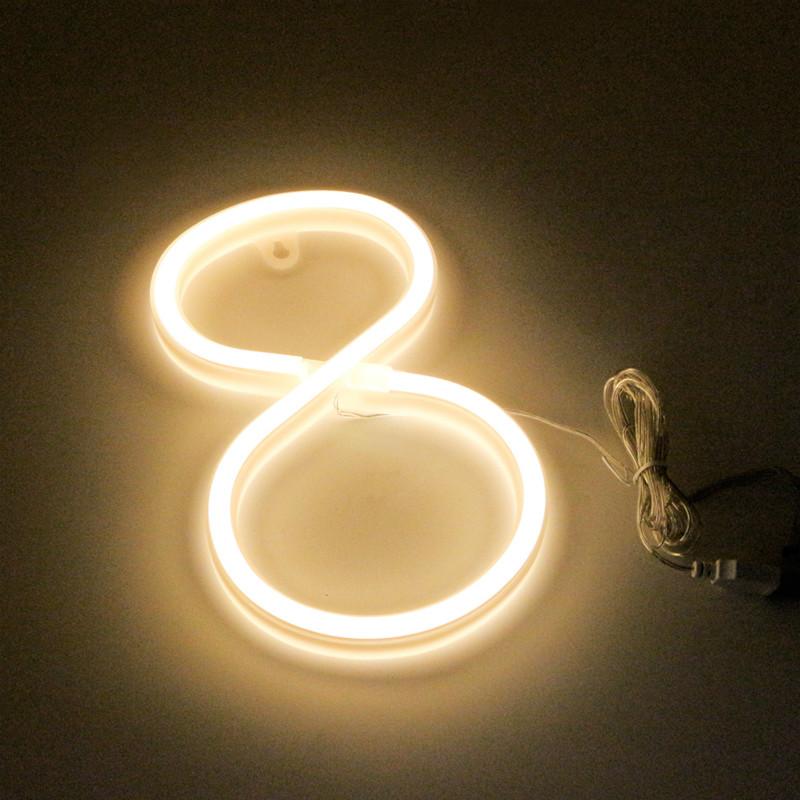 acrylic neon letter