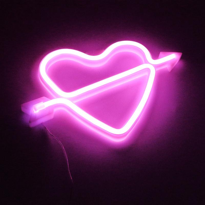 led neon letter light