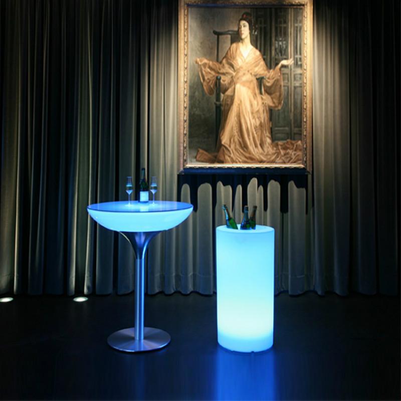 light up bar table