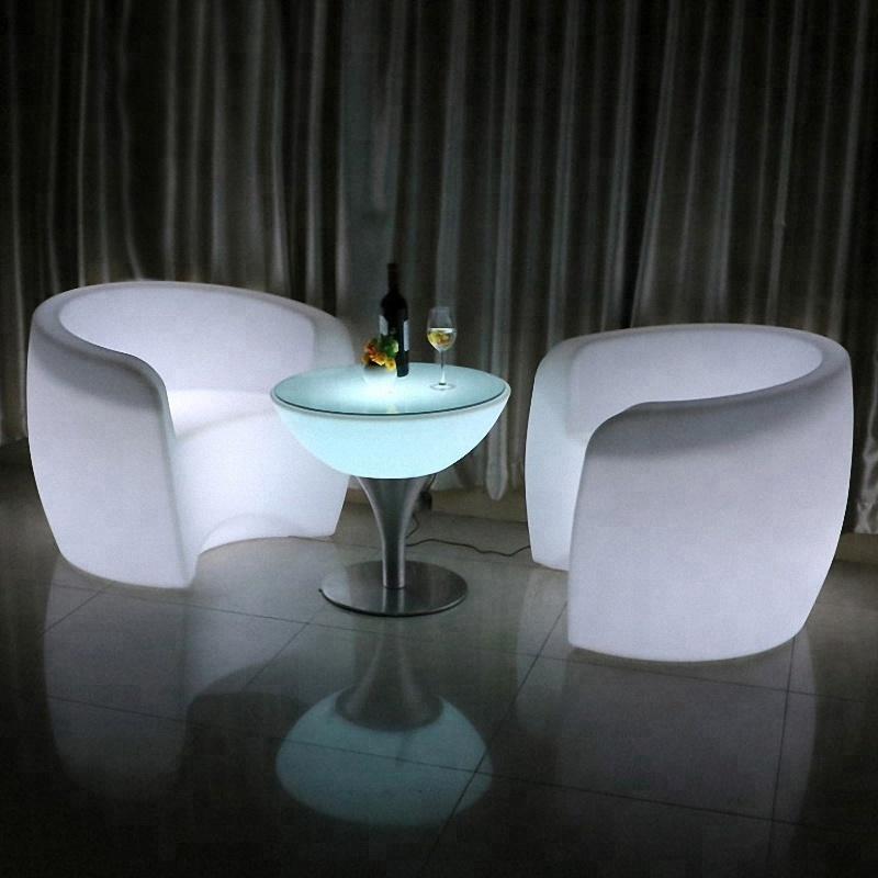 led chair bar