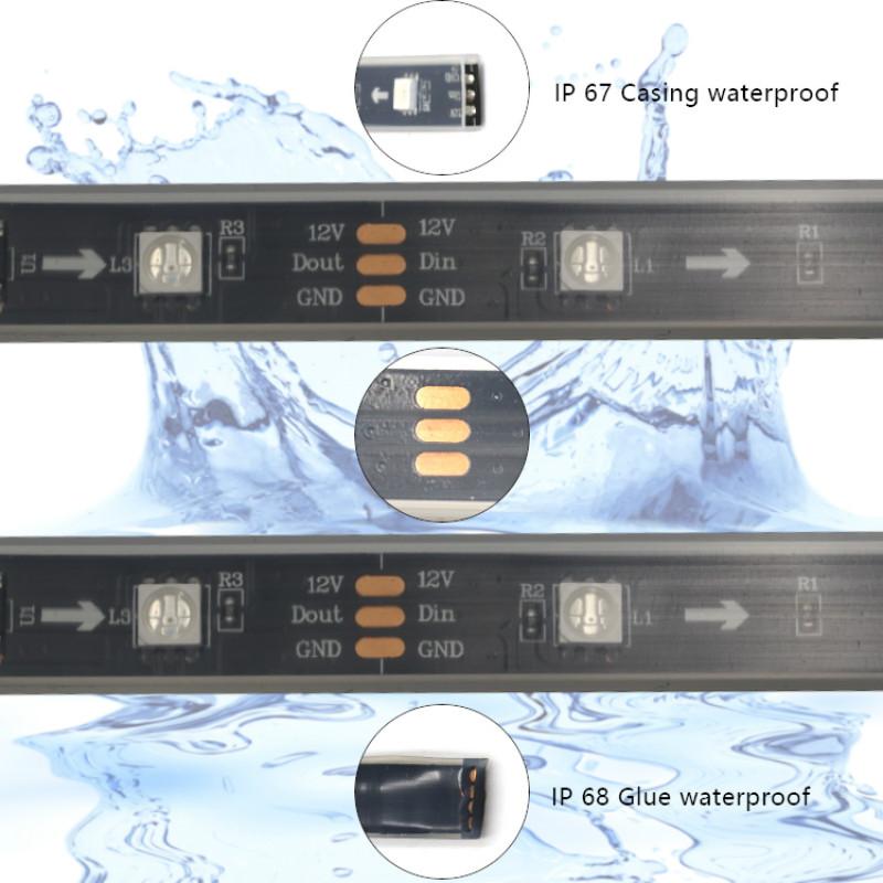 Waterproof WS2811 LED Strip