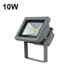10w LED extérieure Lumière d'inondation Couleur Gris