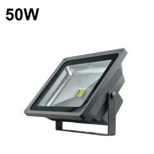 50w luz de inundación al aire libre gris