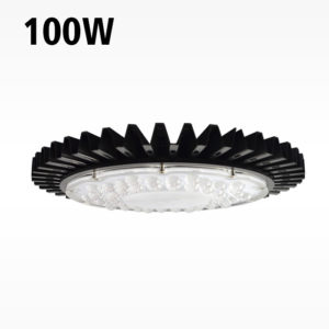 100w Ultra Thin Driverless AC UFO LED High Bay Light