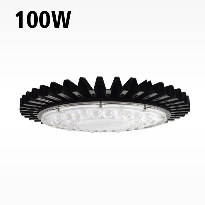 100w Ultra Thin Driverless AC UFO LED High Bay Light