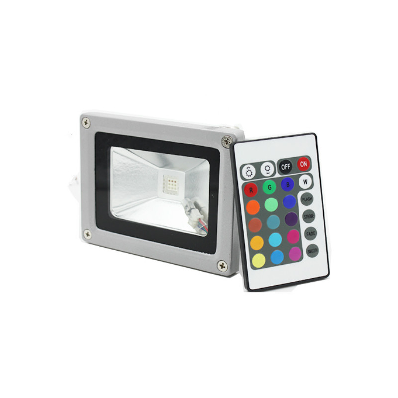 10 Watt RGB LED Flood Light