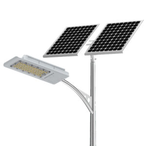 100W Güneş LED sokak lambası