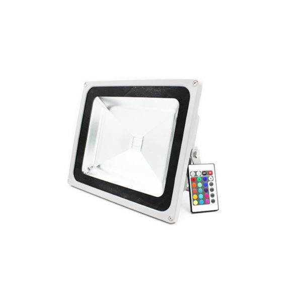 50 Watt RGB LED Flood Light