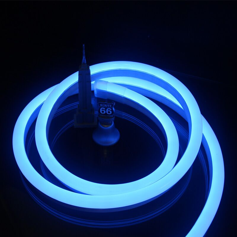 neon led strips backlight blue lights with remote control for hdtv