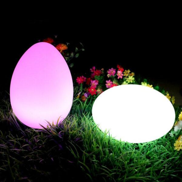 D28xH17cm Flat LED Ball