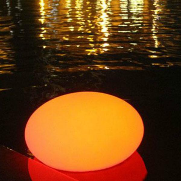 D50xH80cm Flat LED Ball