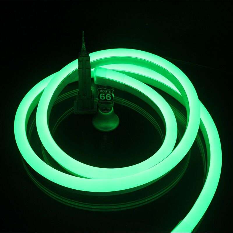 Green Led Light Strips Custom 60 Volt LED Flex NEON Light Strip Green LED Neon Flex Light 60 Ft