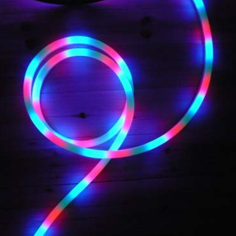 Led neon light dc24v flexible rgb led neon light strip waterproof led neon light dc24v flexible rgb led neon light strip waterproof multi color changing rgb led rope light for home decoration mozeypictures Images