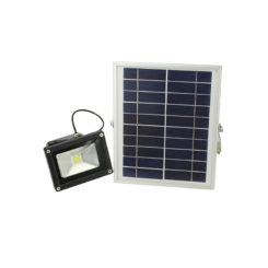 10 watt solar powered flood light