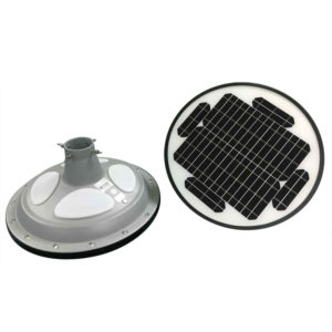 15W UFO Solar RGB LED Garden Light