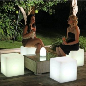 Light Cube 30 centimetri LED