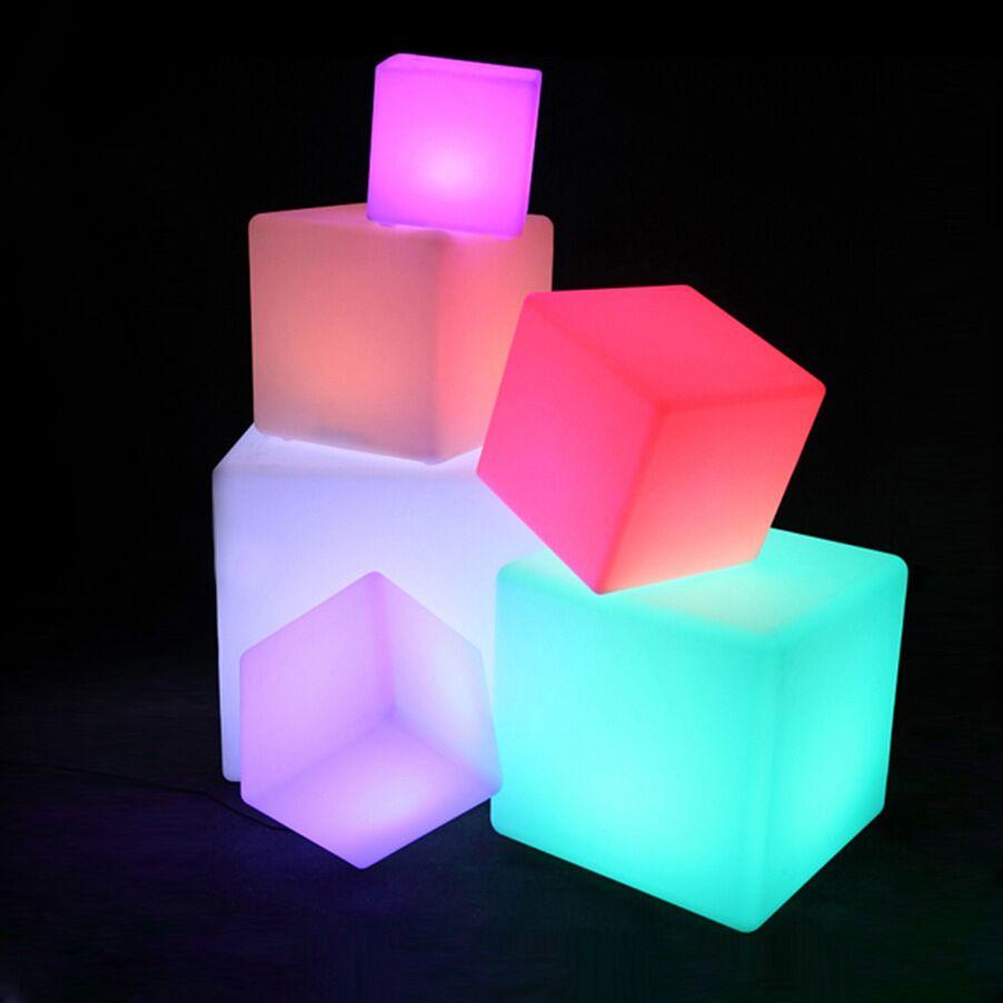 30cm LED Cube Seat