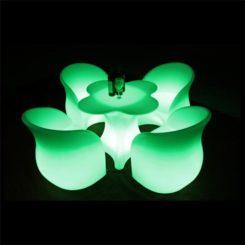 Sofá del LED