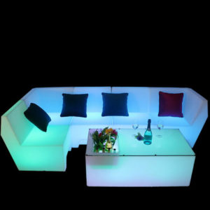 LED Set Sofa