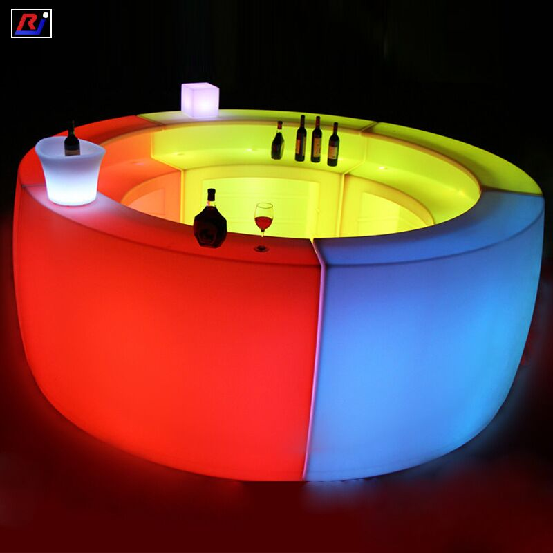 bar led table