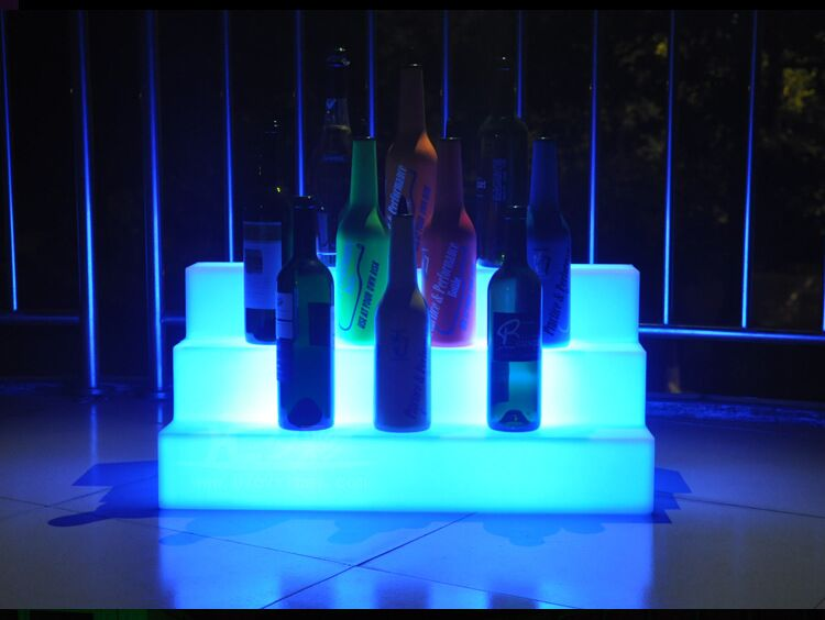LED light up beer RACK