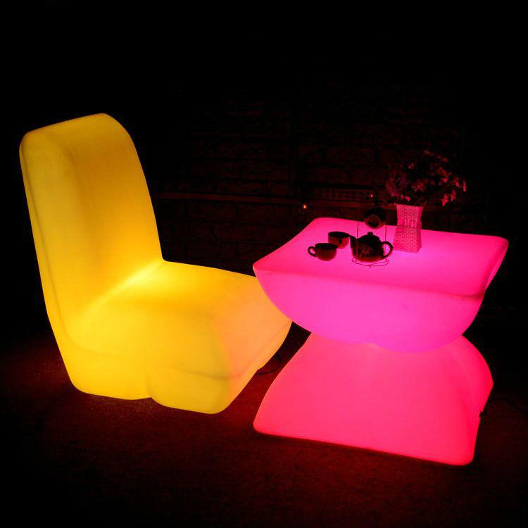 RGB LED Light Sofa