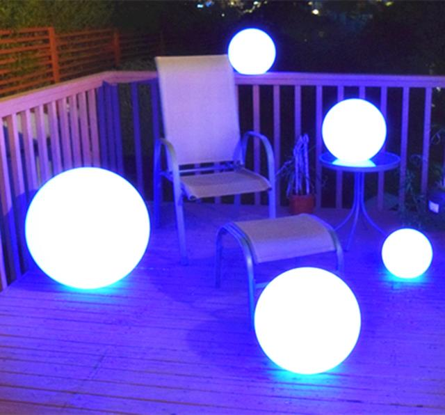 Sól LED Ball Light