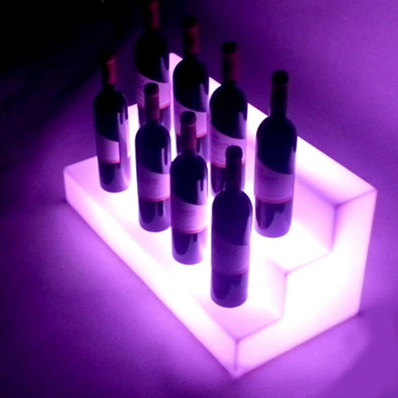 display rack with led light