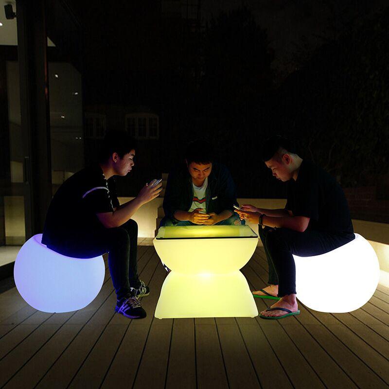 led light sofa