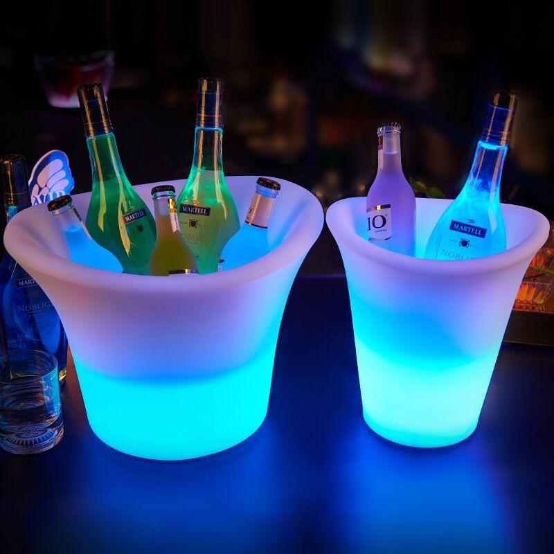 luminous ice bucket